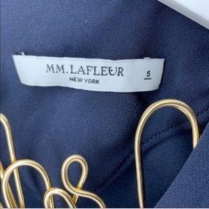MM Lafleur Tops - MM LaFleur The Bourgeois Blouse Navy